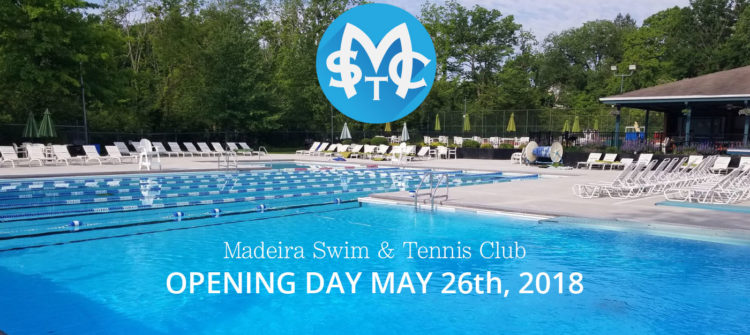 Madeira Swim & Tennis Club Opening Day