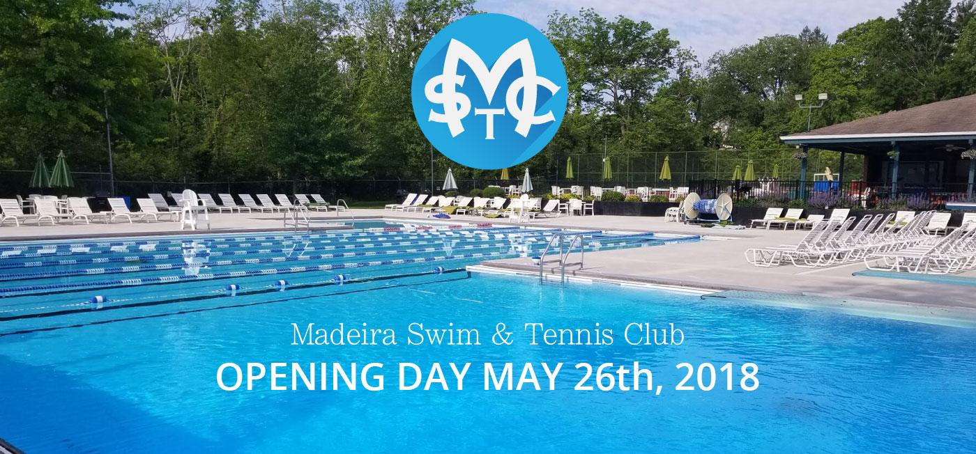 Madeira Swim & Tennis Club Opening Day
